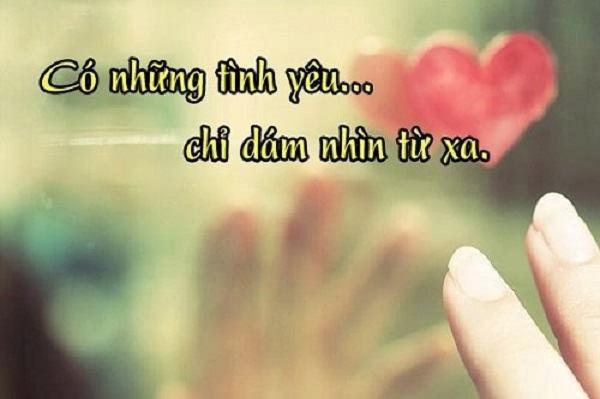 Những Stt yêu đơn phương đẫm nước mắt khiến trái tim bạn đau nhói