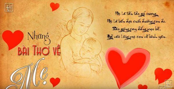 Những bài thơ về mẹ hay cảm động và chân thành nhất