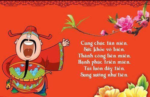 Những bài thơ chúc Tết vui vẻ hóm hỉnh chúc mừng năm mới hay nhất