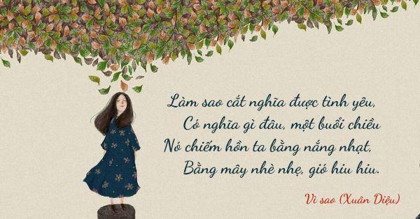 Những bài thơ tình buồn khiến bạn rơi nước mắt