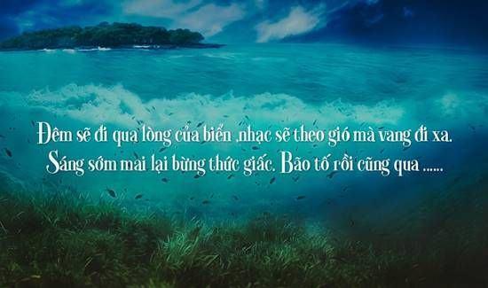 Những bài thơ về biển ngọt ngào và sâu lắng hay nhất thời đại