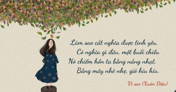 Tuyển tập thơ tặng người yêu ngọt ngào và lãng mạn nhất thời đại