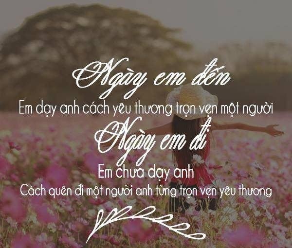 Tuyển tập thơ tình chia tay 4 câu thấm đẫm nước mắt