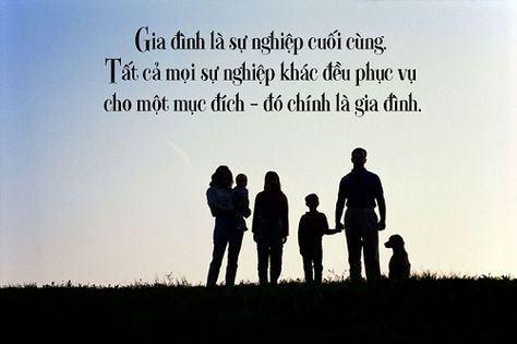 Những câu châm ngôn về gia đình lay động lòng người