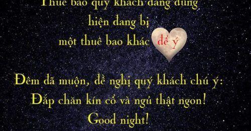 Những tin nhắn chúc ngủ ngon lãng mạn và ngọt ngào hay nhất