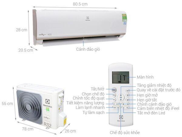 Gợi ý [Top 5] điều hoà Electrolux được ưa chuộng nhất thị trường